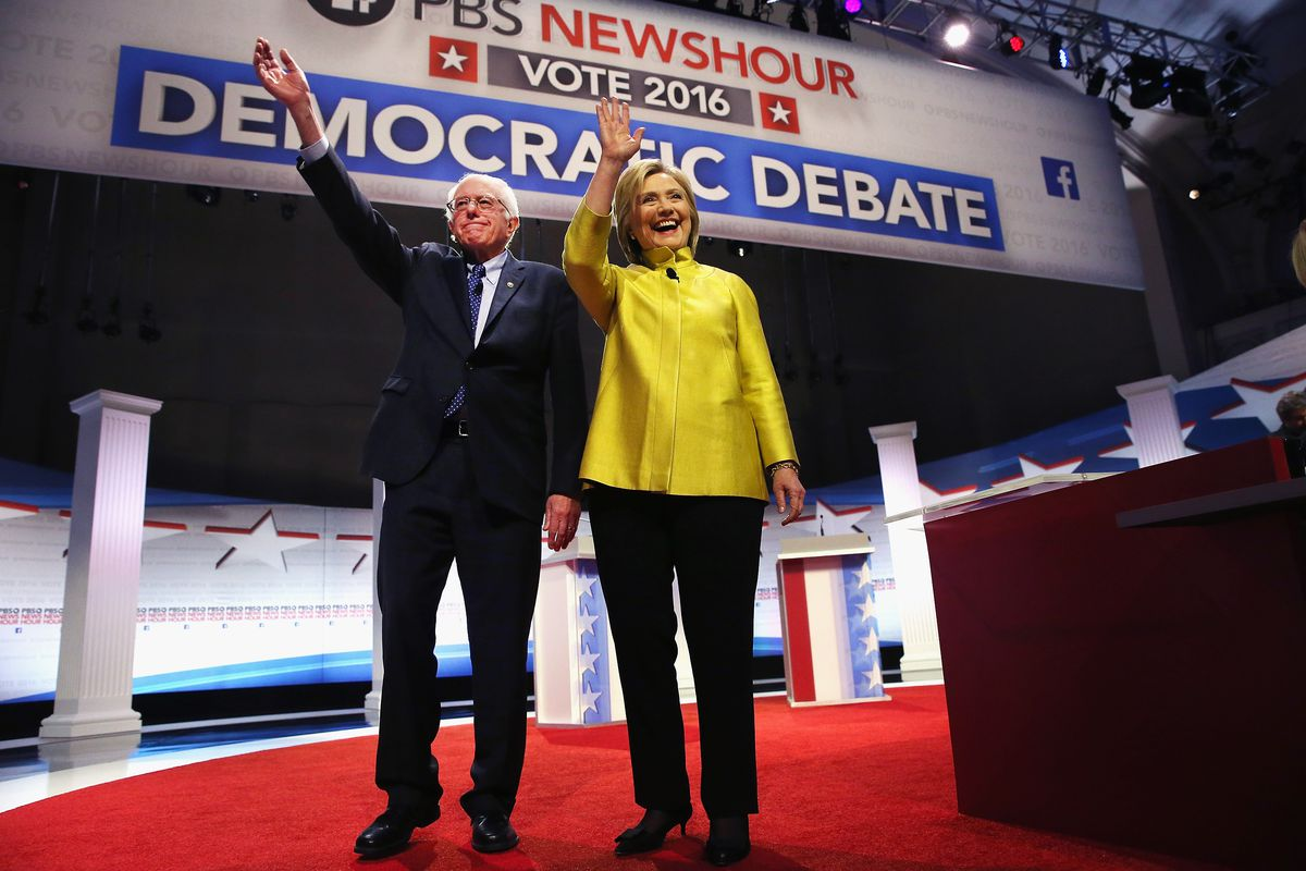 Hillary Clinton and Bernie Sanders face off in Wisconsin.