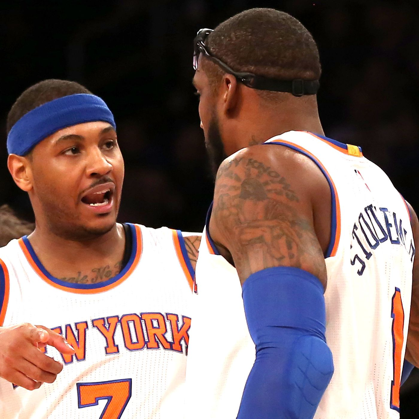Amar'e Stoudemire said what everyone knew about Carmelo