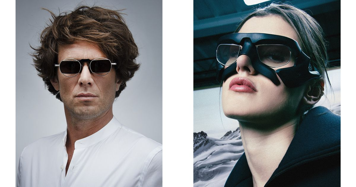 Look like your favorite Metal Gear Solid character, Cool Glassesman, with these Hideo Kojima shades