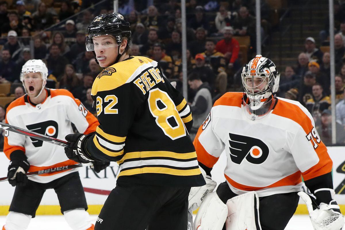 NHL: JAN 31 Flyers at Bruins
