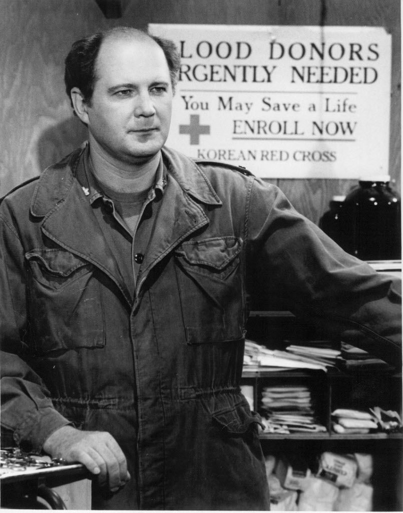 """David Ogden Stiers in a scene from the TV series """"M.A.S.H.""""   FIle photo"""