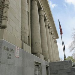The Salt Lake Masonic Temple stands at 650 E. South Temple and was built in 1926.