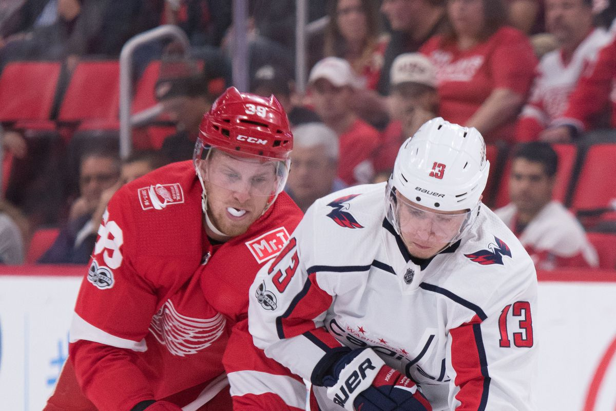 NHL: OCT 20 Capitals at Red Wings