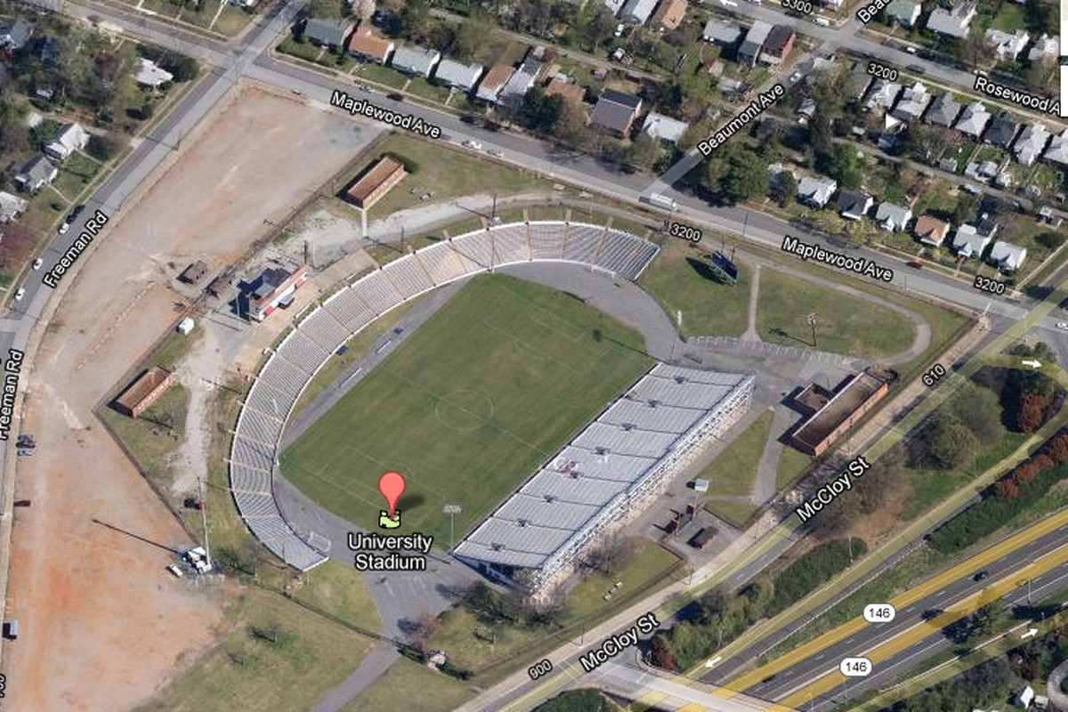 City Stadium in Richmond, VA.