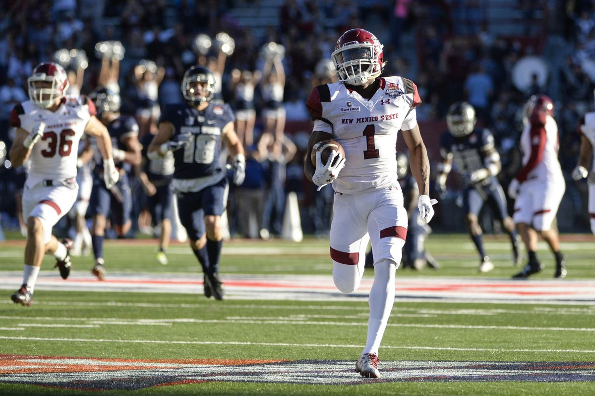 NCAA Football: Arizona Bowl-New Mexico State vs Utah State