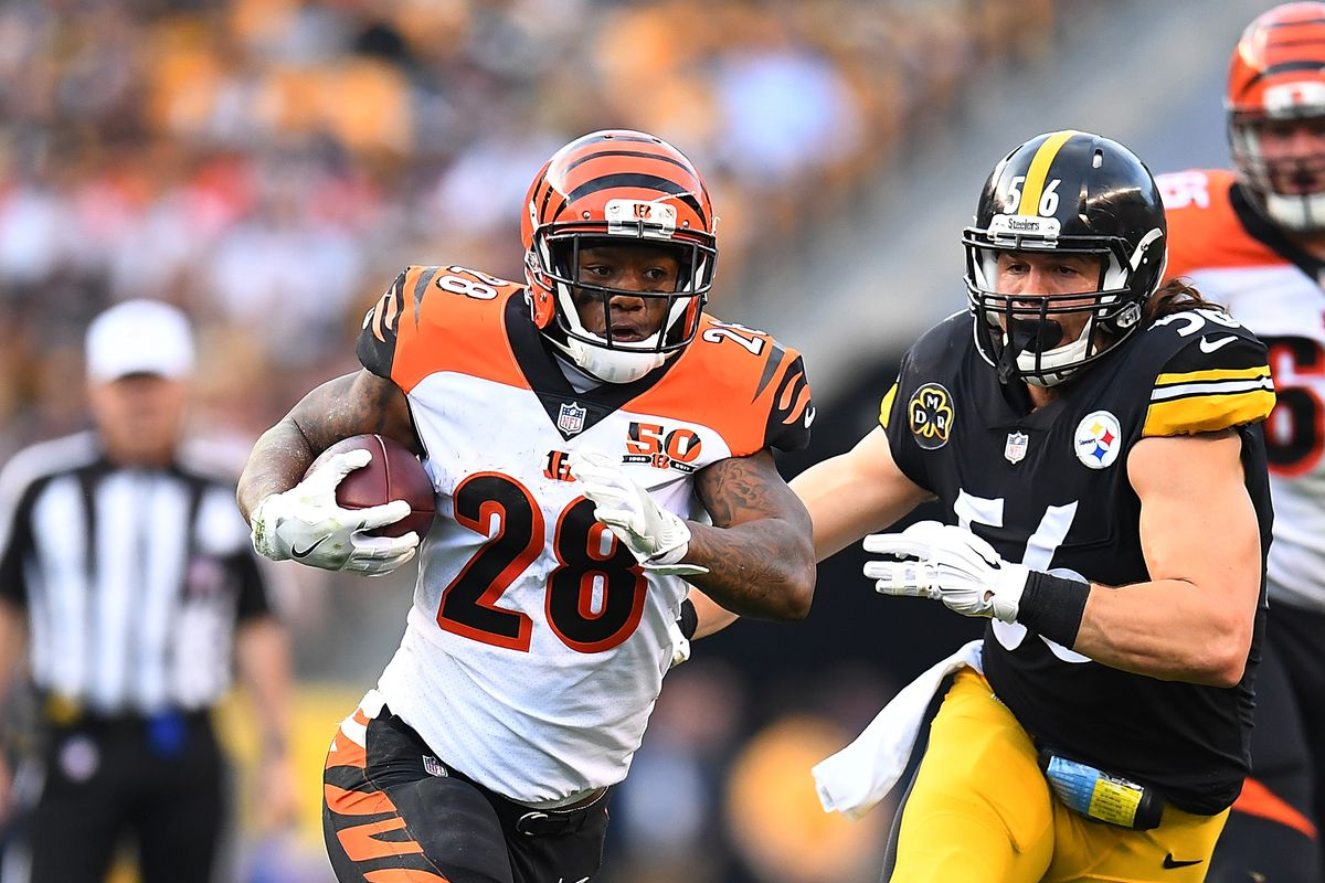 Carries Steelers Loss Mixon Cincy Of To Frustrated - Joe Jungle Bengals' Over Lack After