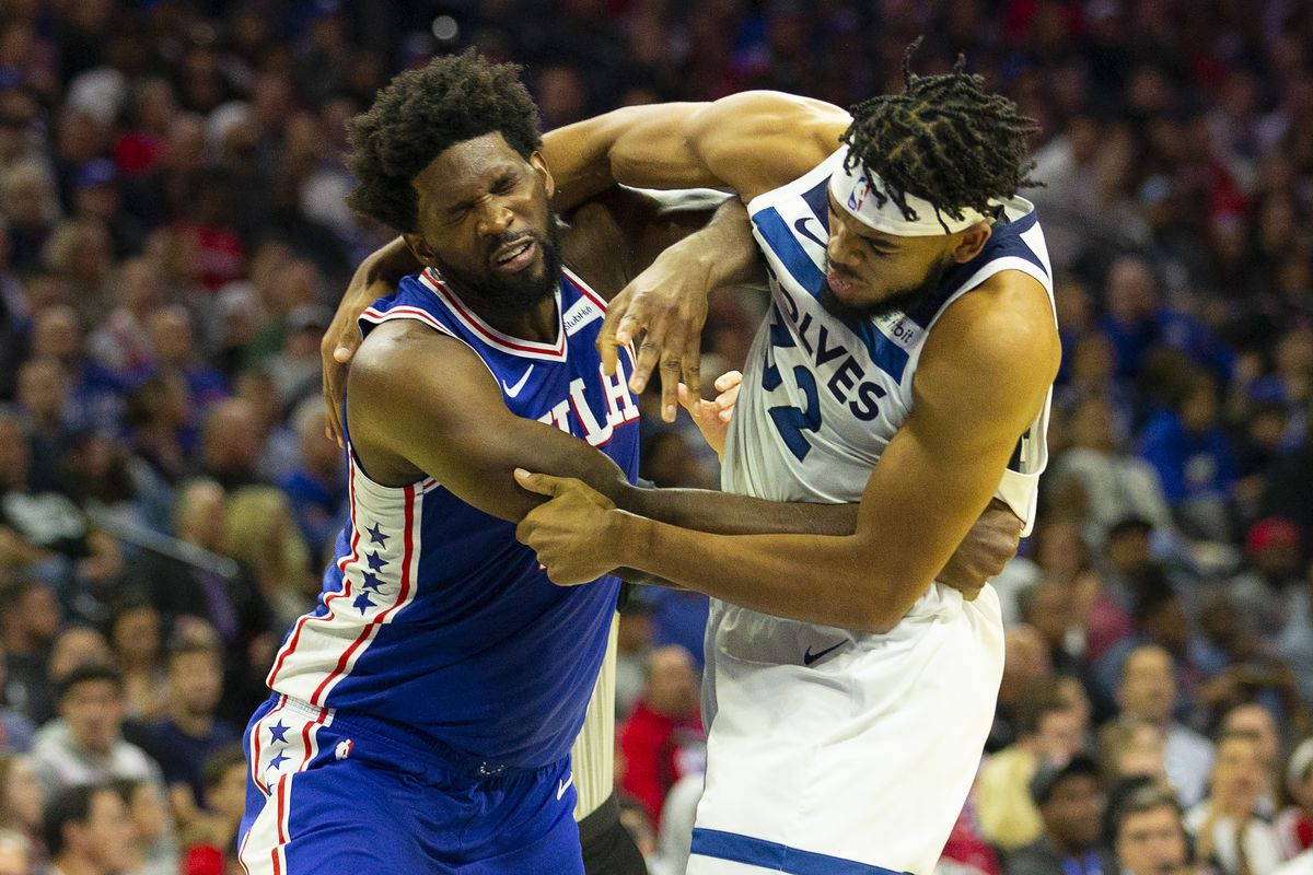The Joel Embiid Vs Karl Anthony Towns Fight Is Pretty Funny