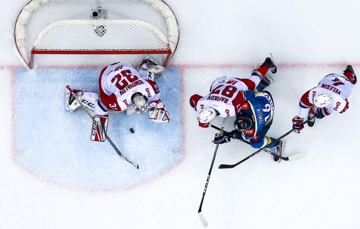 Kontinental Hockey League: HC Sochi 3 - 4 Lokomotiv Yaroslavl