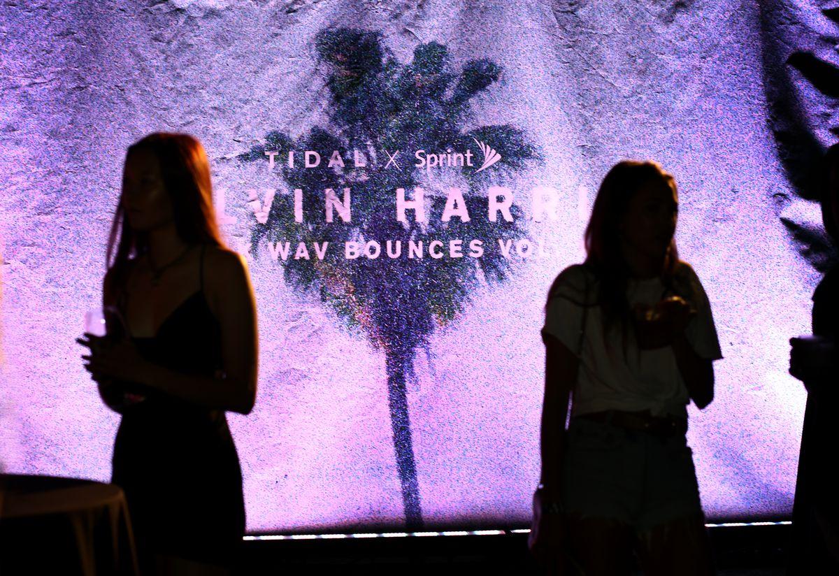 Calvin Harris Album Launch Party