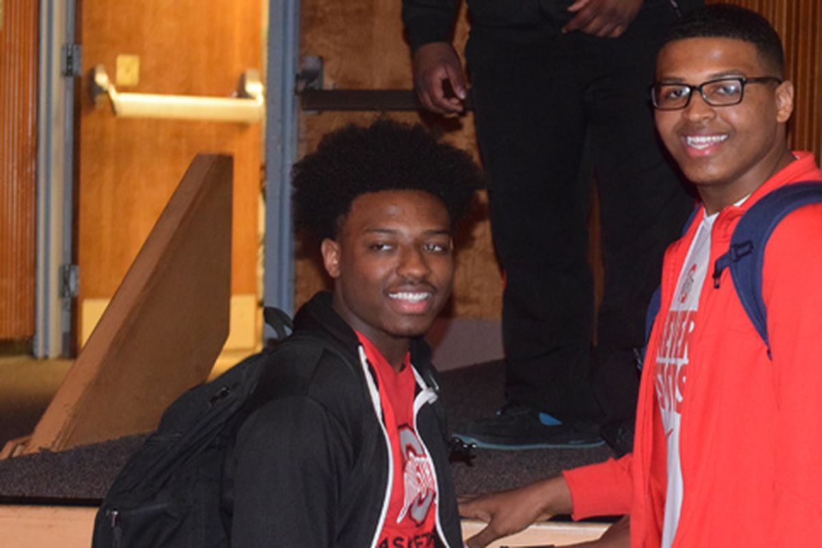 Andre Wesson (left)