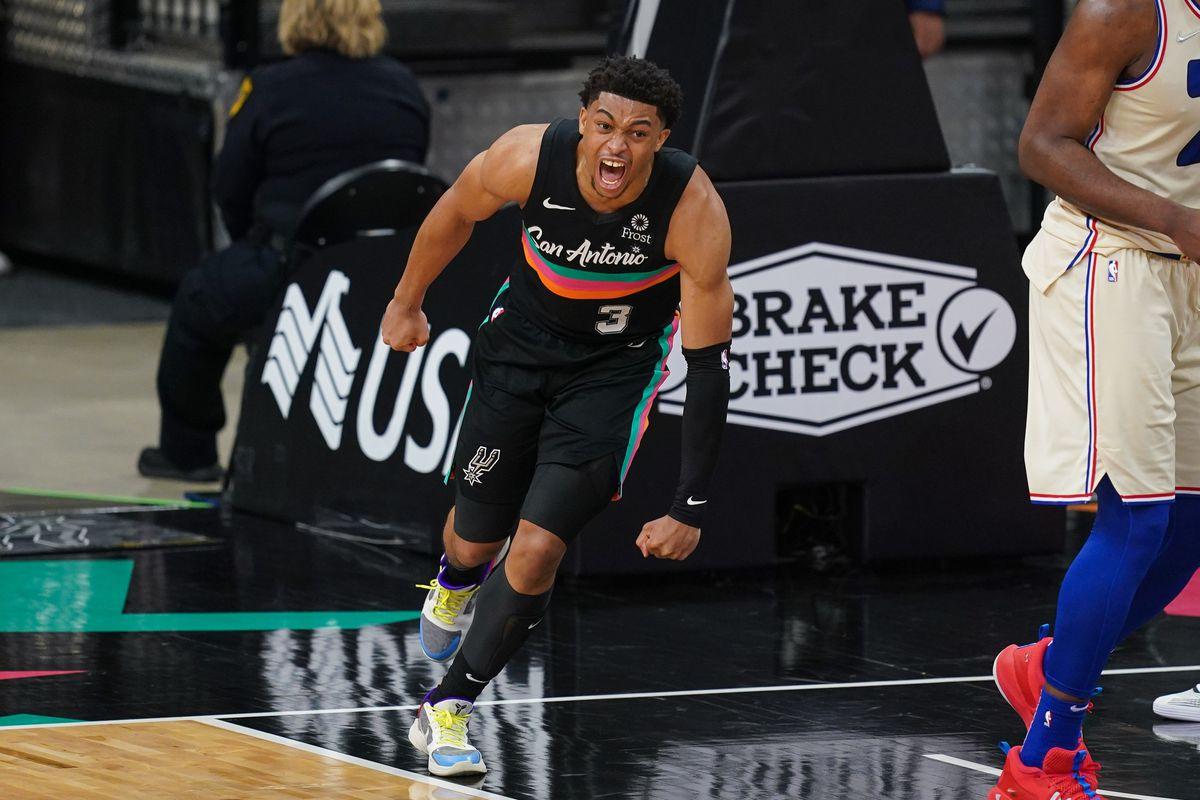NBA: Philadelphia 76ers at San Antonio Spurs
