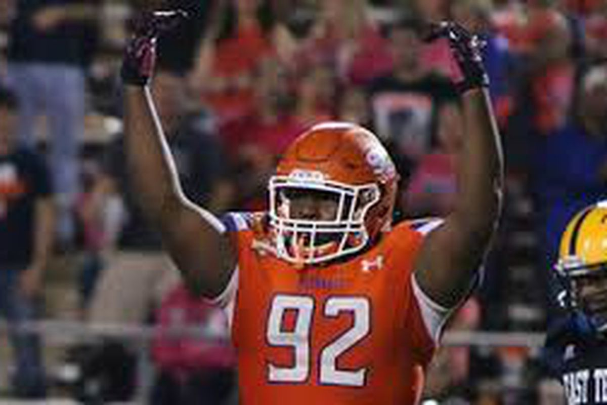 390c0951a NFL Draft results 2018  Raiders select DT P.J. Hall at 57 overall ...