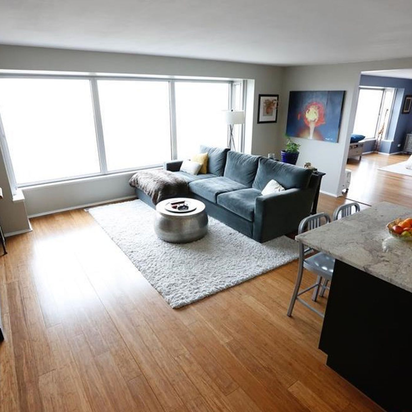 Spacious 13th Floor Lafayette Park Co Op Asks 175k Curbed Detroit