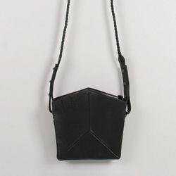"""<b>Imago-A</b> Mini Shoulder Strap Bag in Black, <a href=""""http://www.oaknyc.com/imagoa-mini-shoulder-strap-bag-black.html"""">$488</a> at Oak"""