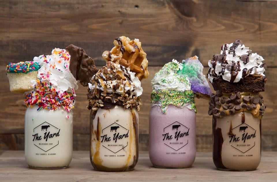Yard Milkshake Bar's milkshakes