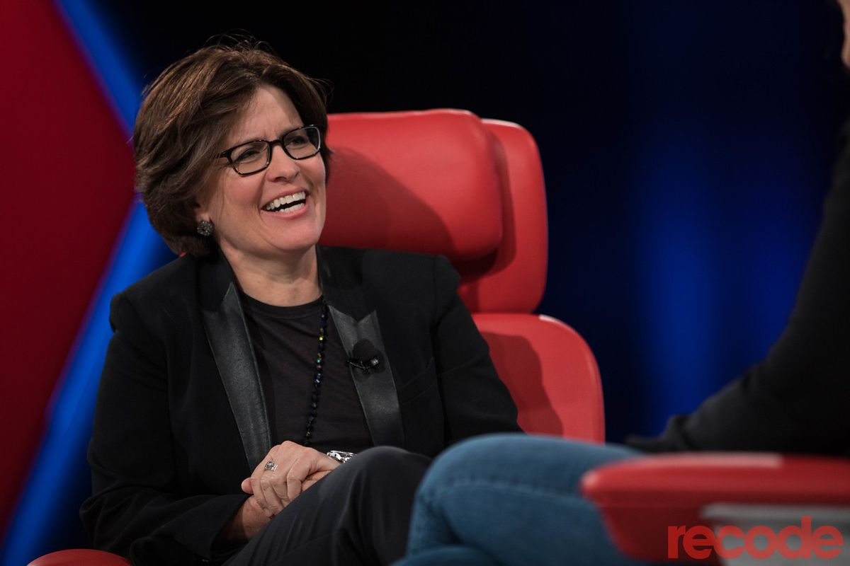 Kara Swisher onstage at the Code conference