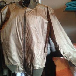 Aviator jacket, $100
