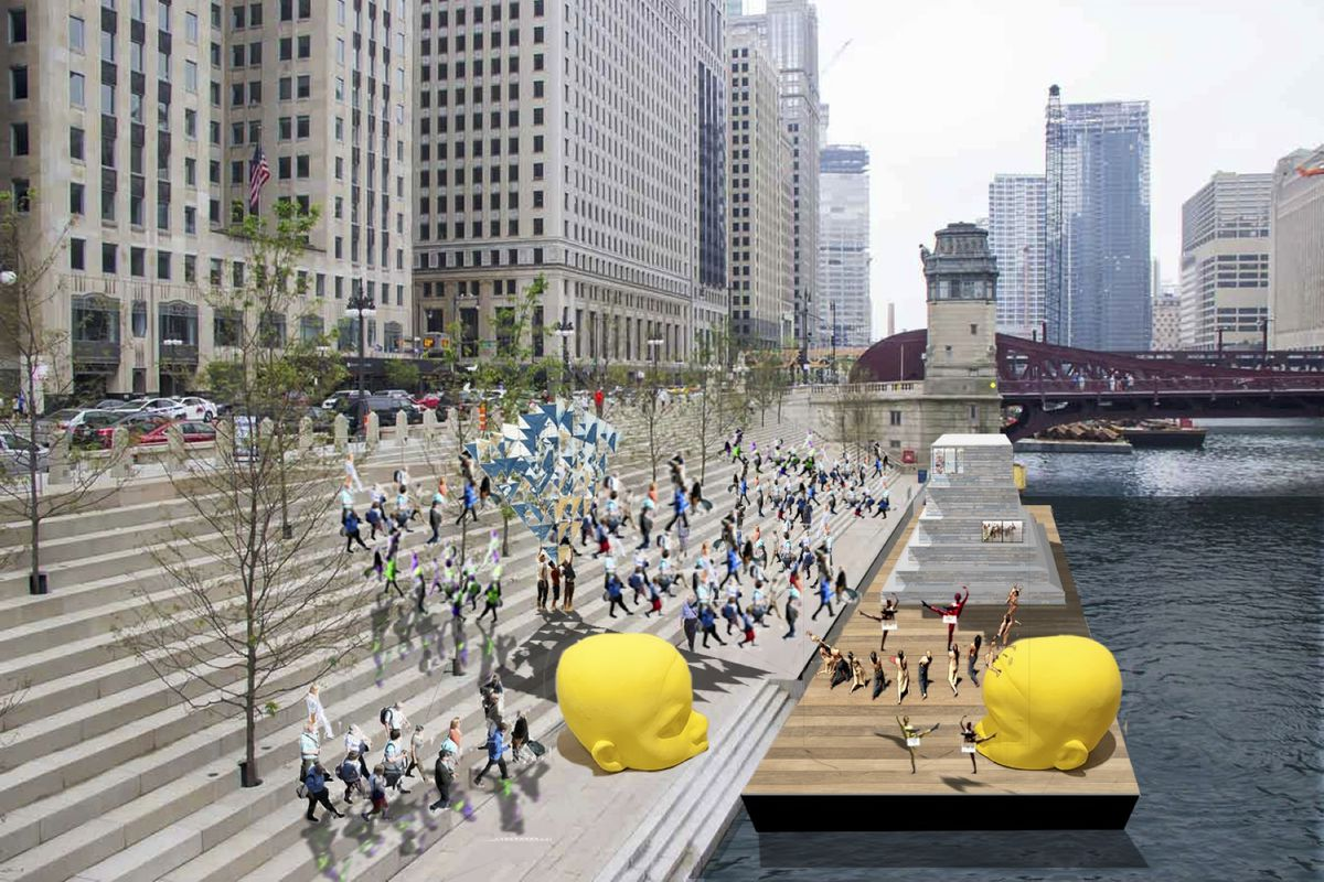 Floating museum' art installation planned for the Chicago