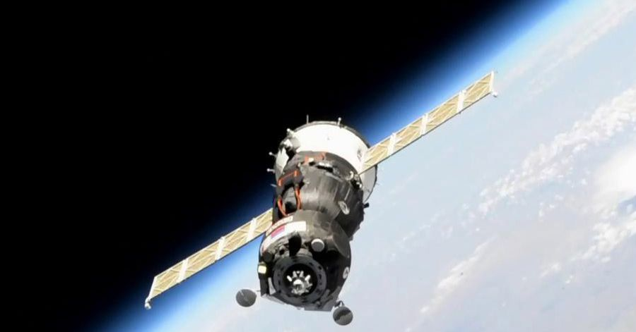 After a botched docking attempt, Russia delivers a humanoid robot to the space station