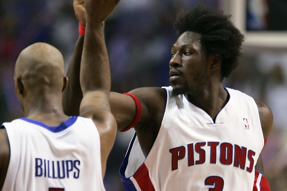 wholesale dealer c05bf f2c48 Pistons officially announce dates for Chauncey Billups, Ben ...