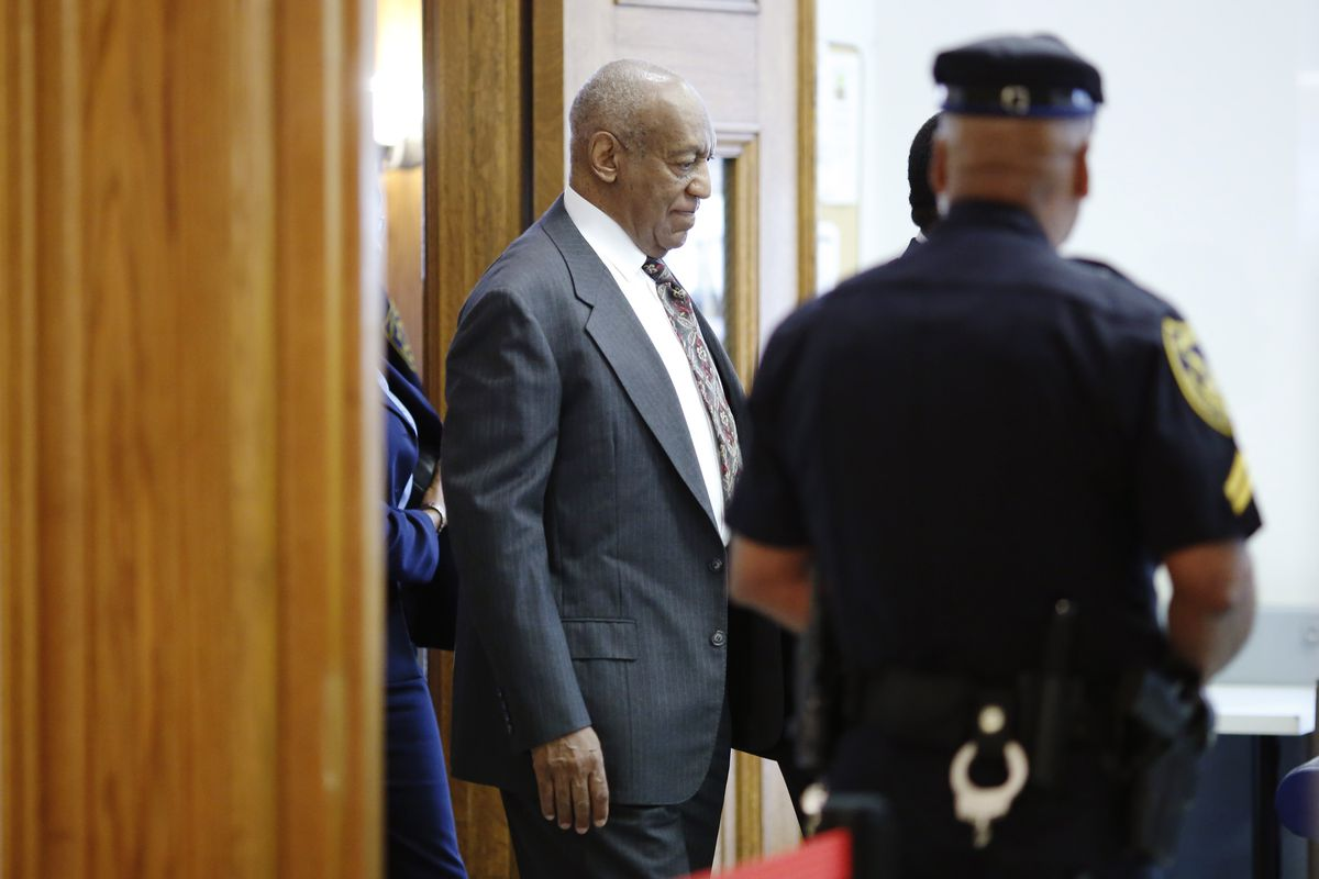 Bill Cosby at a court hearing.