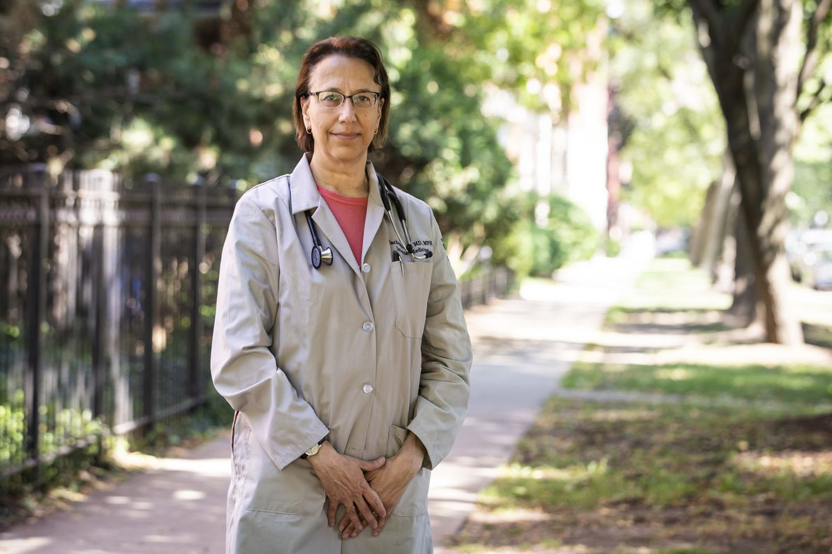 Dr. Rachel Rubin, senior medical officer and co-lead of the Cook County Department of Public Health, is overseeing contact tracing efforts for the county.