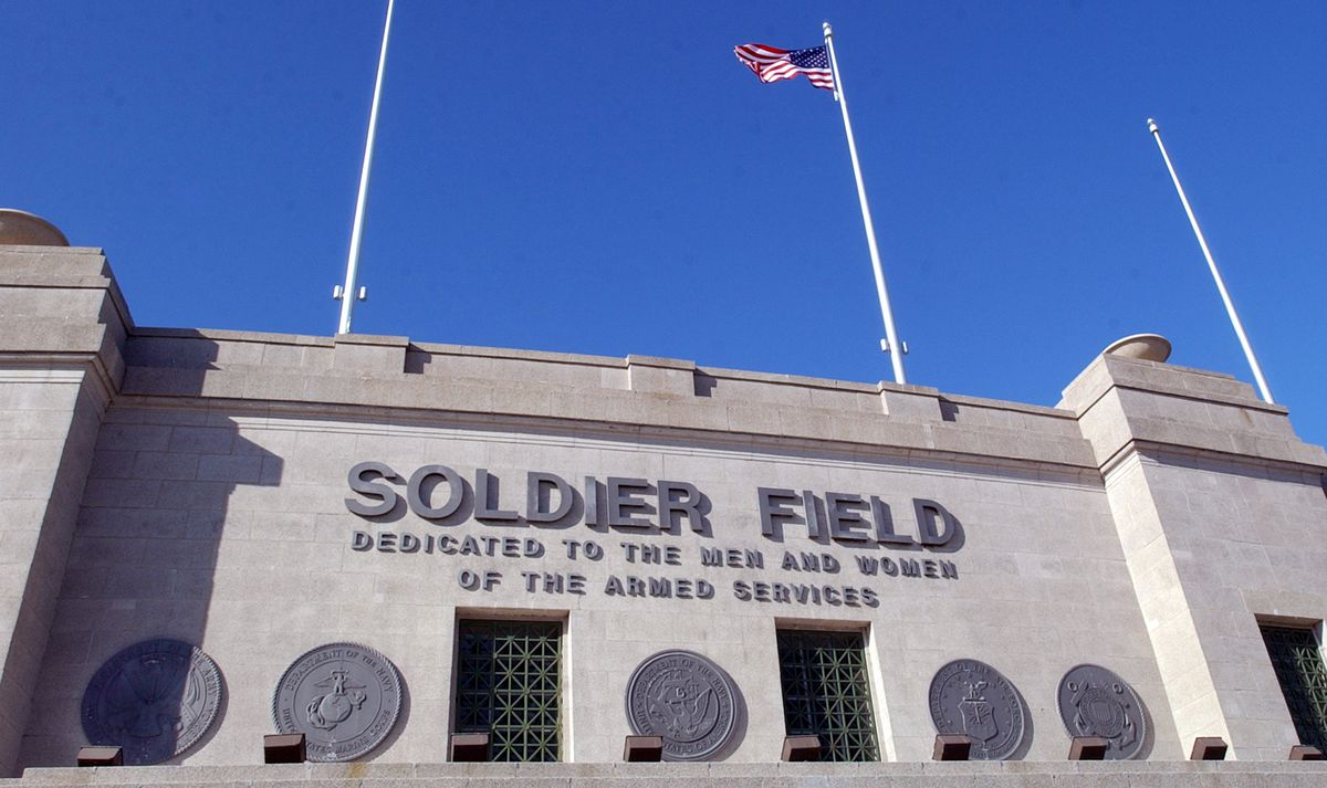 Exterior of Soldier Field