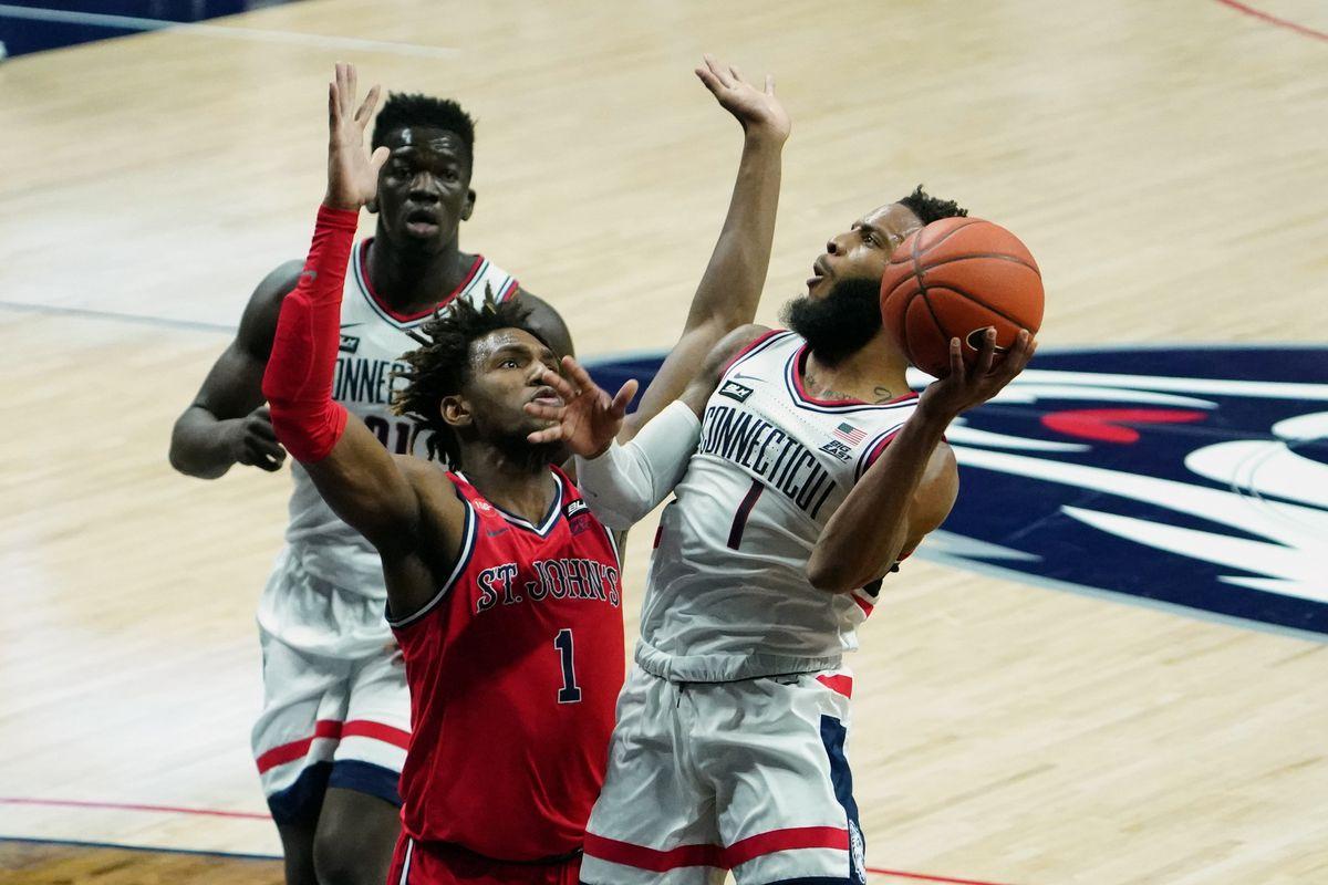 NCAA Basketball: St. John at Connecticut
