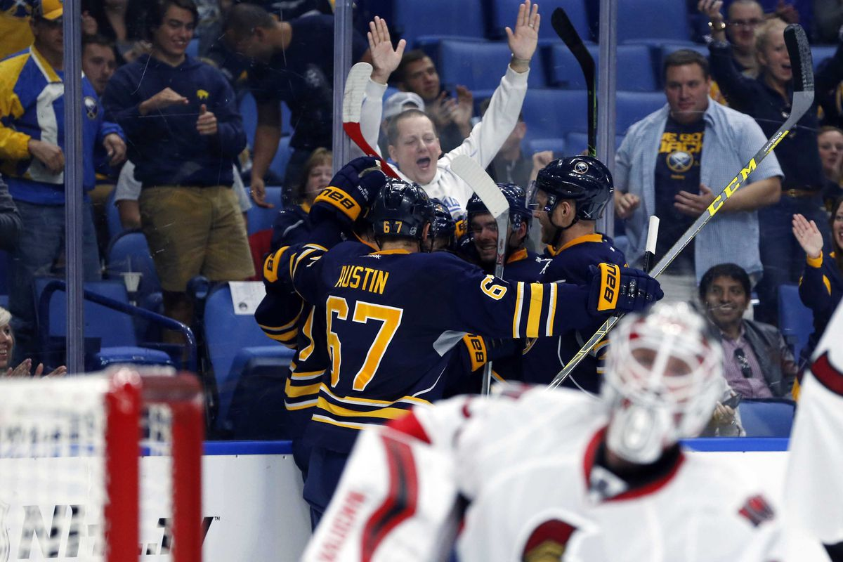 NHL: Preseason-Ottawa Senators at Buffalo Sabres