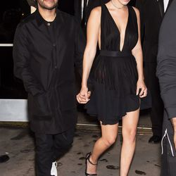 The Weeknd and Bella Hadid. Photo: Getty Images/Gilbert Carrasquillo