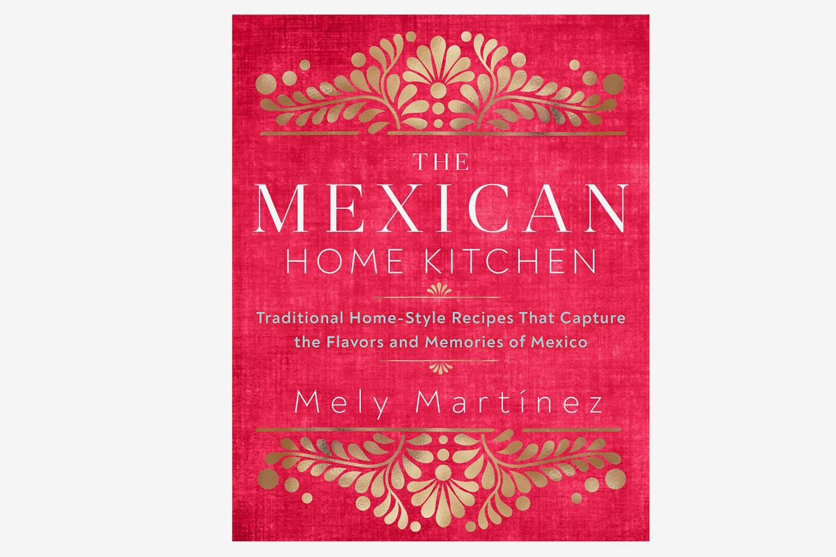 Cookbook cover for The Mexican Home Kitchen