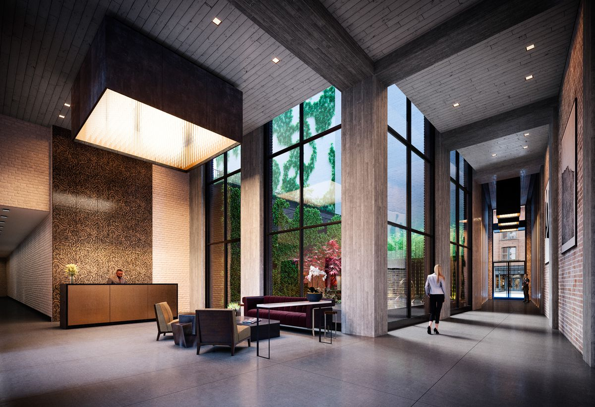Toll Brotherss Swanky Tribeca Condo 91 Leonard Launches Sales