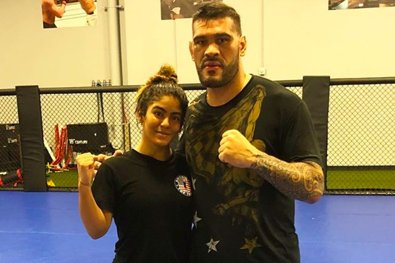 'Bigfoot' Silva's daughter Anne Ribeiro will fight in March.