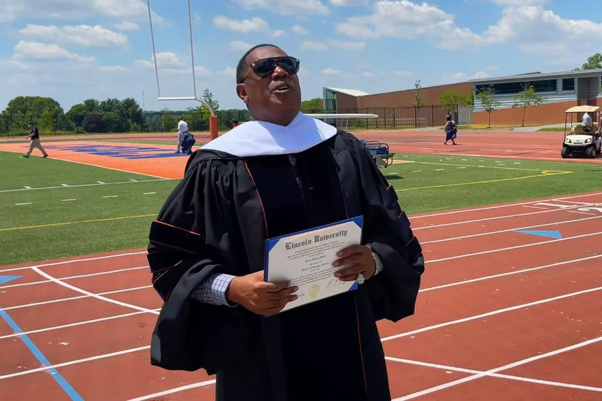 Master P Receives Honorary Doctorate Degree from Lincoln University