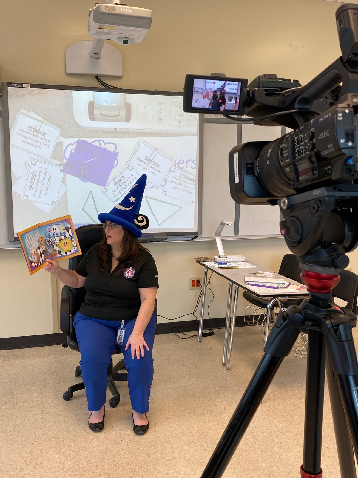 Shelby County Schools educators recorded lessons for TV to reach more students who may not have internet access.