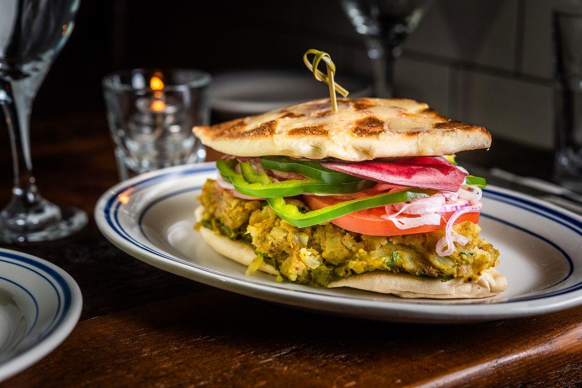 Mumbai masala toast from Duke's Grocery
