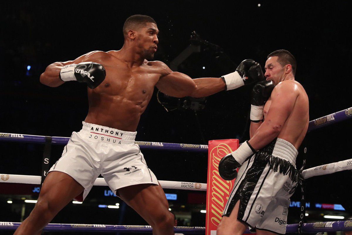 joshua vs parker results anthony joshua wins decision to unify