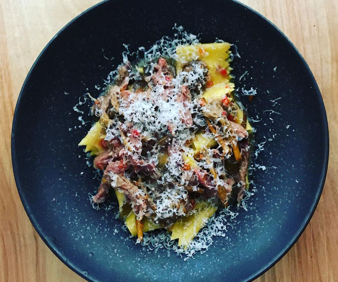 Pappardelle at Spoke Wine Bar