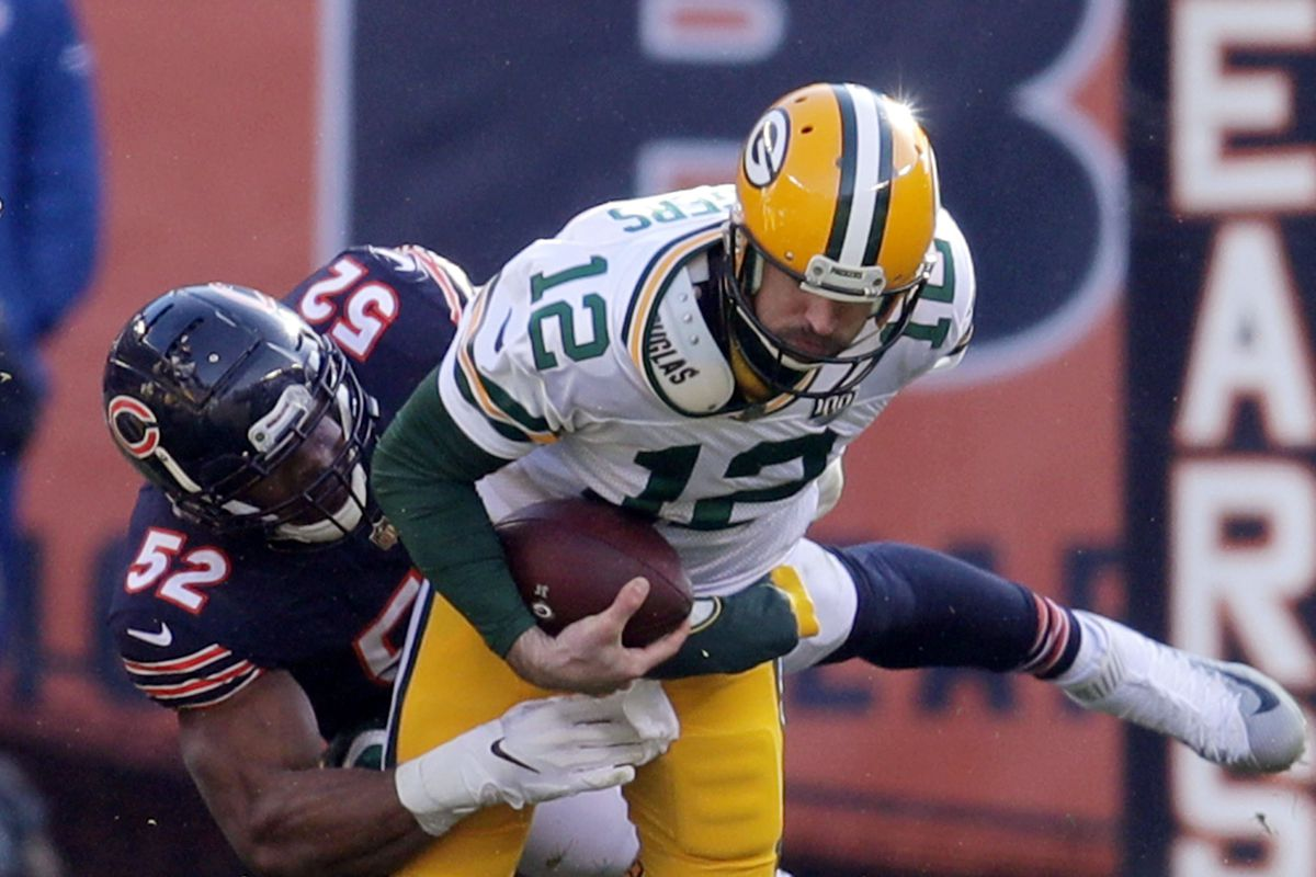 competitive price a3039 e80b0 Bears and Packers play in 100 days, so give us your very ...