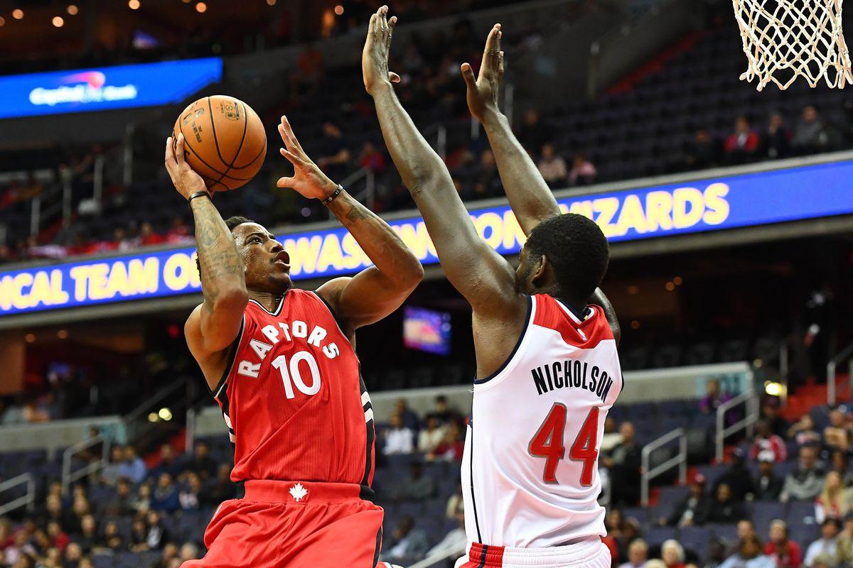 NBA: Preseason-Toronto Raptors at Washington Wizards