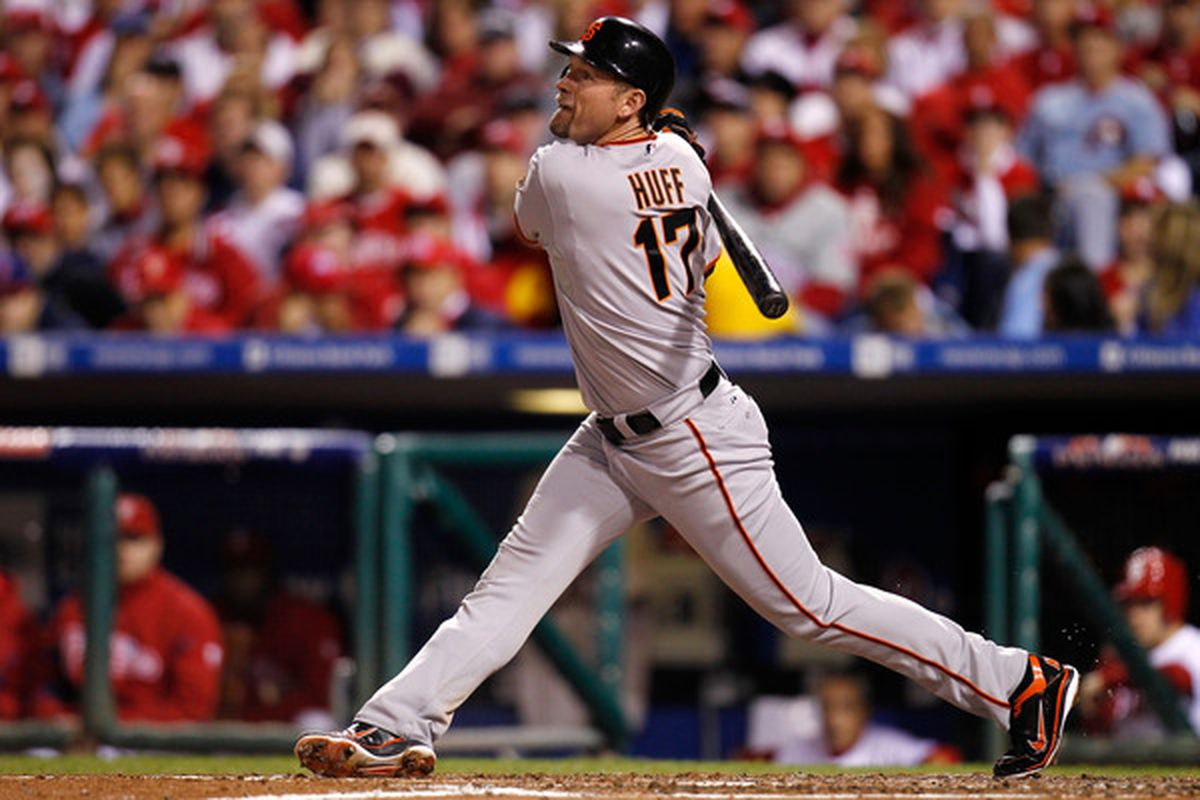 Aubrey Huff could be the biggest winner from San Francisco's World Series win. The free agent seems poised to cash in on the Giants windfall.
