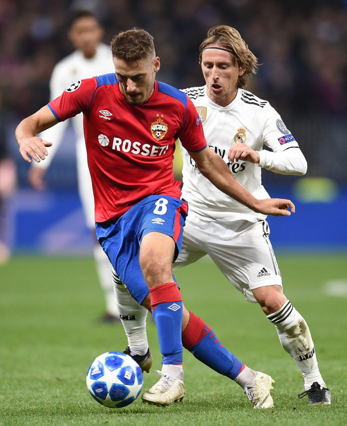 CSKA Moscow v Real Madrid - UEFA Champions League Group G