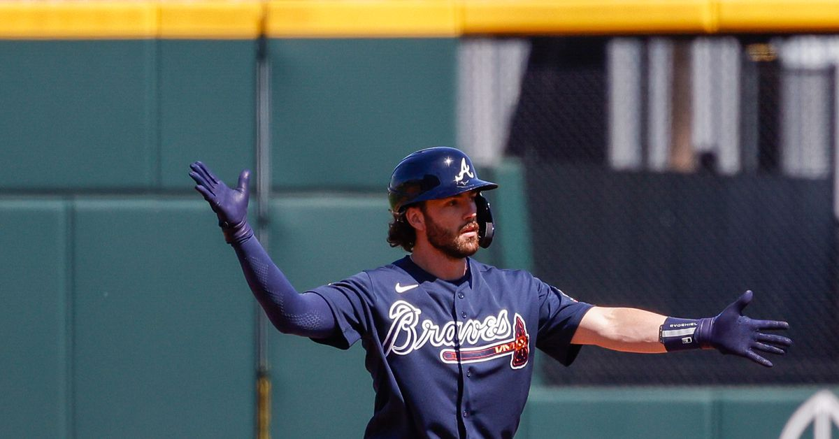 Big hits from Pache and Swanson lead Braves to 5-4 victory over Red Sox - Talking Chop