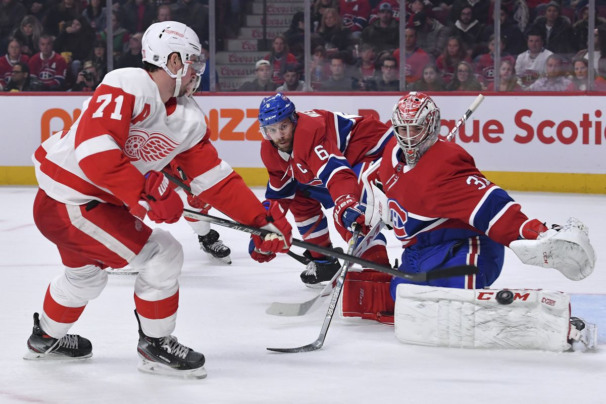 Canadiens vs. Red Wings game recap: Bested by the worst