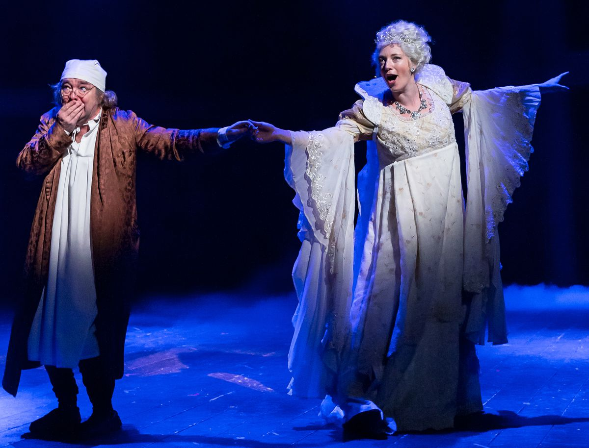 """""""A Christmas Carol"""" is being staged in a 60-minute version at Drury Lane Theatre."""