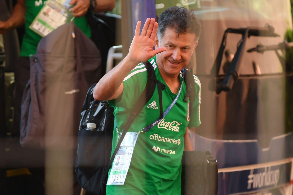 Mexico Team Arrives to Samara - FIFA World Cup Russia 2018