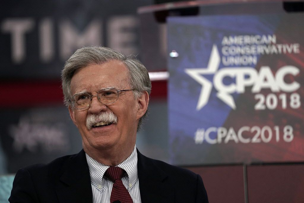 Former U.S. Ambassador to the United Nations John Bolton speaks during CPAC 2018 February 22, 2018 in National Harbor, Maryland.(Photo by Alex Wong/Getty Images)