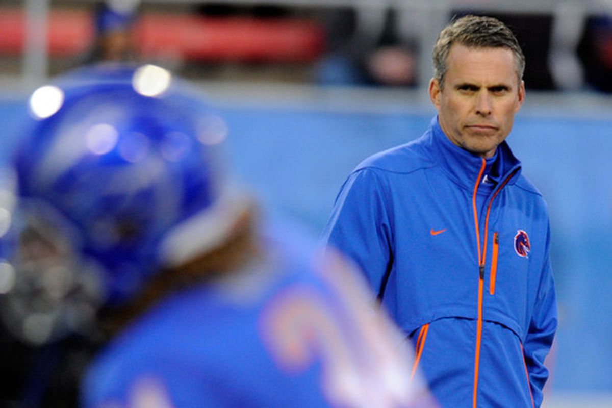 Does Chris Petersen give Boise State an edge?