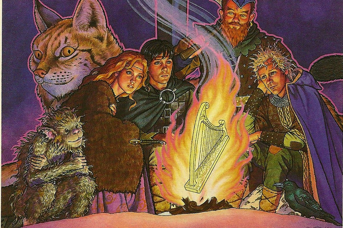 The Chronicles of Prydain is the greatest fantasy series
