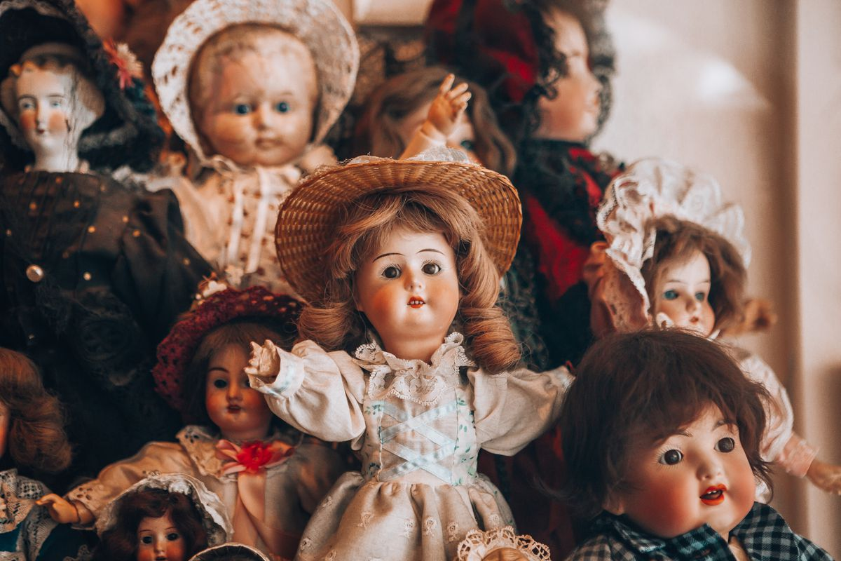 Horror movies love a haunted doll  So do collectors  - Vox